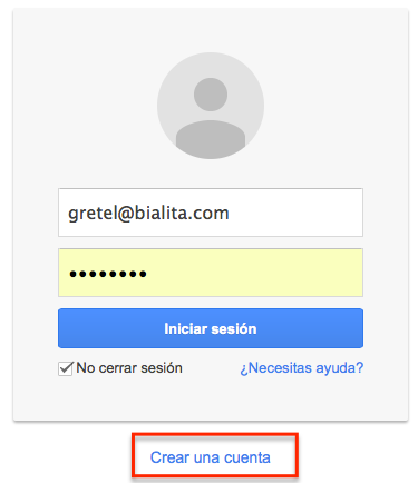 acceso google analytics
